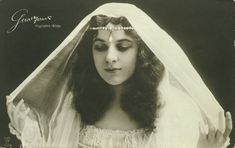 Geraldine Farrar in Rigoletto. (1882-1967)--American opera diva and silent film star, Geraldine Ferrar, was one of the most famous women in the world during the second decade of the 20th century. Beautiful, stylish, and possessed of enormous charisma, her presence mattered as much as her voice in her stardom.