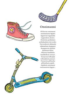 Onnimanni (Jari Tammi: Nakkikirja, Pikku-idis 2013) Reading Skills, Riddles, Pre School, Literature, Poems, Teacher, Education, Kids, Literatura