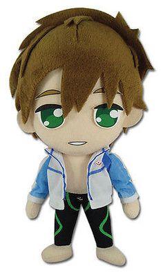 "FREE! Makoto Tachiba 8"" Plush Stuffed Toy GE 52668 Great Eastern FREESHIPPING! I NEED IT LIKE AIR"