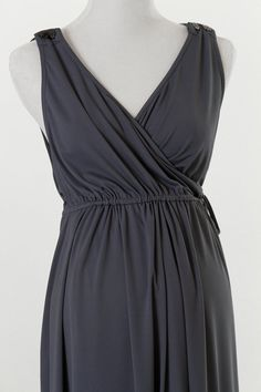 It's a labor and delivery gown! It is very versatile. Great for breastfeeding, working out and perfect for in the hospital and at home. Put on some leggings and wear it on the go! While wearing it in the hospital, it maintains privacy, yet has simultaneous access from the front and the back! All of this in just one gown, love it!