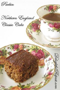 Parkin is, I think, generally considered a Yorkshire thing; but some say it's a Lancashire thing. So let's just call it a Northern (Engla. Tea Cakes, Cupcake Cakes, Parkin Recipes, England Cake, Cream Tea, Ice Cream, Shortcake Recipe, Northern England, Icebox Cake