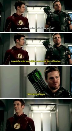 TheFlash 2x08, Season2  Flash x Arrow