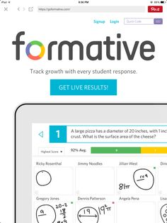 GoFormative:  FREE Web based formative assessments -upload PDFs, Google or Word docs, or create your own online. Insert multiple choice, text boxes, drawn response, photos right into the document. 21st Century Classroom, Formative Assessment, Year 7, Google Docs, Multiple Choice, Teacher Tools, Student Work, Educational Technology, Teaching Ideas