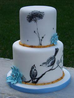 Bird Cake by Erin Salerno, via Flickr