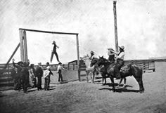 the old west pictures   Sinister Images of Public Execution in the Wild West