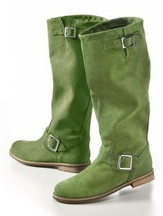 Green boots :-)