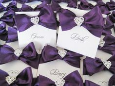 Announcing Your Date With Purple Wedding Invitations. Read more: http://memorablewedding.blogspot.com/2013/09/announcing-your-date-with-purple.html