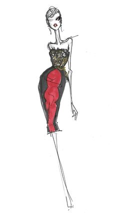Nordstrom Exclusive-sketch from Jason Wu Fall 2012 Collection