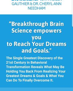Brain Science, To Reach, What You Can Do, Your Brain, Behavior, Dreaming Of You, Success, Learning, Tips