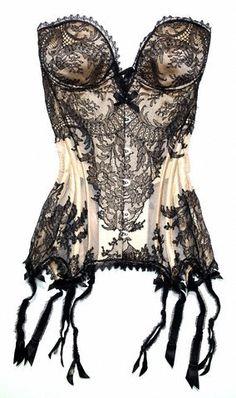 vintage / delicate lingerie outfit ideas