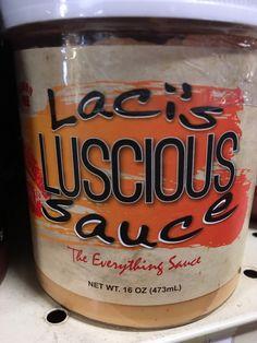 Laci's Luscious Sauce