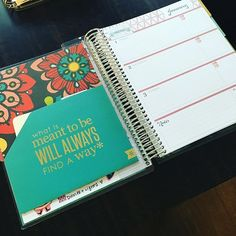 Got the extra coil clip-in pockets to hold on to post it notes and stickers I'm currently using! #erincondren #wleccoilclips #wlecfolders #weloveec @plan_b0908