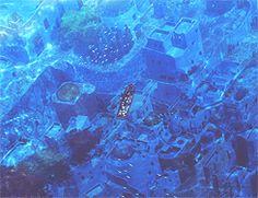 my gif gif anime water fish scenery gif set under water noa anime gif nagi no asukara