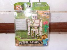 Mojang Minecraft Series 2 Over World Iron Golem Figure #Mojang