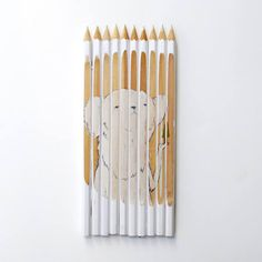 Pencil Art: using pencils as canvas - Oddee.com (pencil art, art with pencils as canvas)