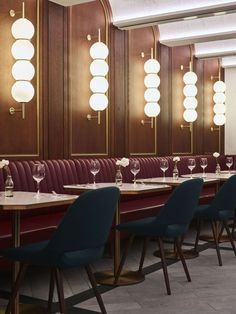Selection of luxury bar designs to inspire you for your next interior design project ! Interior design trends to help to decor your bar! Restaurant Design, Deco Restaurant, Luxury Restaurant, Restaurant Lighting, Cafe Lighting, Lighting Ideas, Modern Lighting, Restaurant Interiors, Pendant Lighting