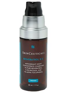This nighttime SkinCeuticals treatment serum is formulated with the antioxidant reservatrol which helps smooth and protect skin.