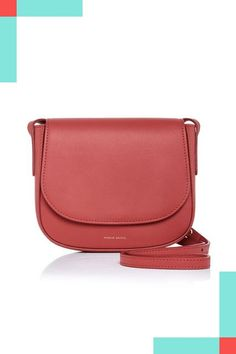 30 Non-Black Handbags You Can Wear Every Day #refinery29  http://www.refinery29.com/colorful-handbags#slide-25  Mansur Gavriel's newer shape is just as chic as its classic bucket bag.Mansur Gavriel bag....