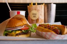 Blue Collar   Hunger Maps http://www.hungermaps.com/place/blue-collar/ #lunch #burgers #shakes #fries #hotdogs