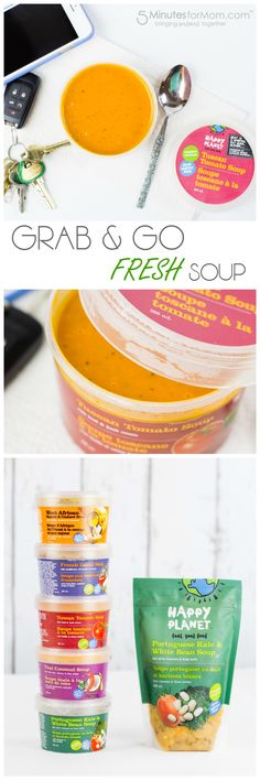 Grab and Go Happy Planet Soup