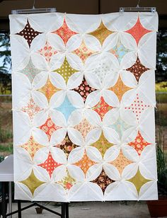 I love this Rob Peter to Pay Paul quilt made by Tracey.