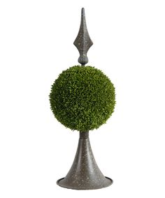 Metal Moss Ball Décor