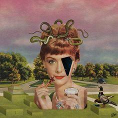 Collage rétro par Albane Simon
