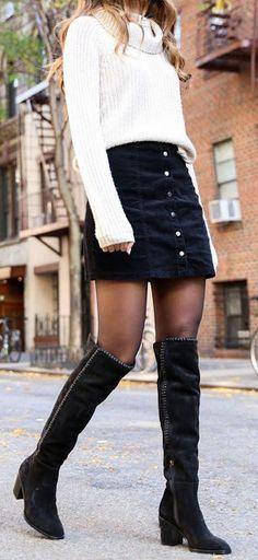 12 Wintermode-Outfits - Carol G. - - 12 Wintermode-Outfits - Carol G. Winter Mode Outfits, Winter Fashion Outfits, Look Fashion, Autumn Winter Fashion, Womens Fashion, Fashion Trends, Fashion Clothes, Fashion Ideas, Dress Fashion