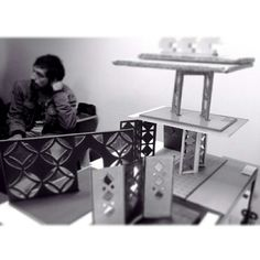 """biombos"", DuocUC, Chile. My Works, Chile, Desk, Furniture, Home Decor, Folding Screens, Desktop, Decoration Home, Room Decor"