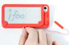 Tome notas com a case iFoolish Magic para iPhone 4/4S.