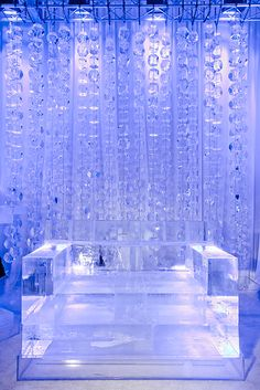 ice furniture | Ice bulb - Ice Luges, Ice Sculptures, Ice Bars, Ice Furniture, & MORE!