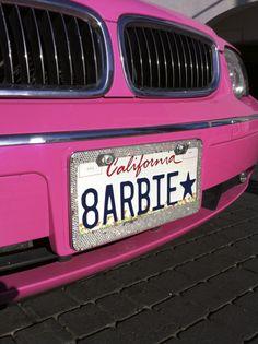 ☮✿★ Barbie Pink Car  ✝☯★☮