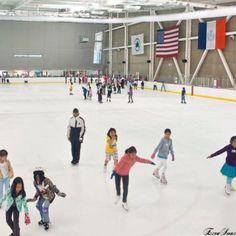World Ice Arena - New York City, NY #Yuggler #KidsActivities #IceSkating