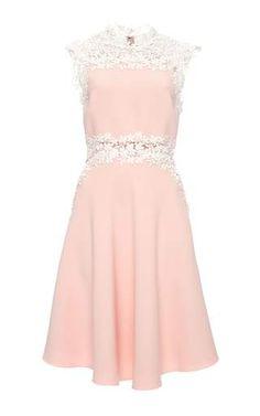 Sleeveless double crepe cady dress by GIAMBATTISTA VALLI Preorder Now on Moda Operandi