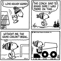 The Zamboni driver is my hero! Hockey Pictures, Snoopy Pictures, Peanuts Cartoon, Peanuts Snoopy, Peanuts Comics, Garfield Cartoon, Snoopy Cartoon, Snoopy Love, Snoopy And Woodstock
