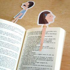 Imprimible de punto de libro gratis de TuttiConfetti
