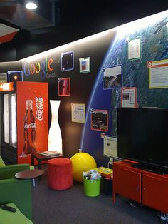 Colorful Office Interiors which Look like a Playground for Kids