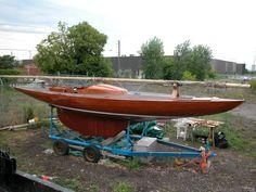 Mahogany Dragon Sail boat