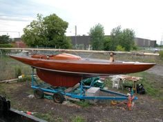 1959 Pedersen Tousen Dragon sailboat