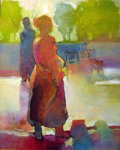 """""""Figures in a Garden #598"""" Mark Gould"""