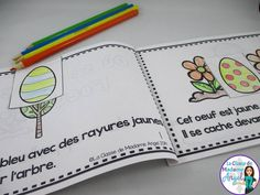 Joyeuse Pâques! Fun emergent reader for students in French! Perfect activity for Easter.