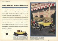 Model A Ford Advertisement by Boats-n-Cars, via Flickr