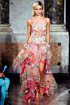 Emilio Pucci Gold Caviar Heart Dress Evening Dresses Emilio Pucci