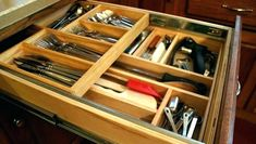 Tutorial Diy Drawer Dividers Kitchen Edition Hawk Hill with measurements 2853 X 2061 Wooden Kitchen Drawer Organisers - On the lookout for a coffee table w Kitchen Drawer Dividers, Utensil Drawer Organization, Plastic Drawer Organizer, Closet Organizer With Drawers, Kitchen Cupboard Organization, Kitchen Cabinet Drawers, Plastic Drawers, Diy Drawers, Drawer Organisers