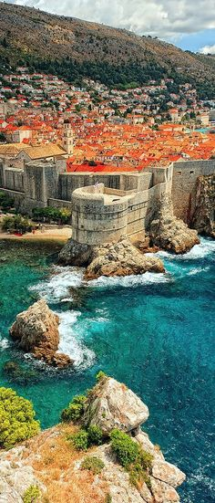 I have also went to Dubrovnik, Croatia. This was an entire city inside of a castle. Dubrovnik was really in a bad situation in 1992 to 1995 because they were in a war against Kotor. The whole city was bombed and destructed in some places.