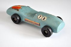 Old Pinewood Derby Car