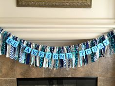 Be Awesome Today Paper Banner Garland by SentimentsShoppe on Etsy