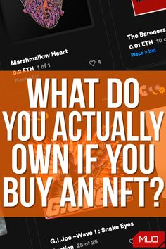 "The term NFT is being thrown around plenty right now, and interest in these strange blockchain tokens is only set to grow in the coming years. But before spending even a small amount on an NFT, or ""digital collectible,"" you should know exactly what it is that you're purchasing. It's probably not what you expect. #Blockchain #NFT #NonFungibleToken #Cryptocurrency #Art #DigitalArt Gi Joe, Marques Brownlee, The Deed, In Writing, What You Can Do, Video Editing, Blockchain, Cryptocurrency, Rage"