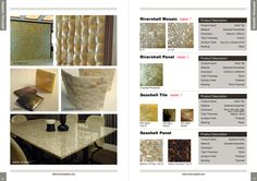 Mother of pearl shells are one of the most popular sea shell component and specimen and natural material that is used as a material in home wall decor and interior wall covering design of your home, building or offices beautiful and elegant.