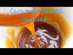 Caramelă pregătită în casă/Карамель в домашних условиях - YouTube Flan, Mousse, Pudding, Desserts, Youtube, Caramel, Tailgate Desserts, Creme Brulee, Deserts